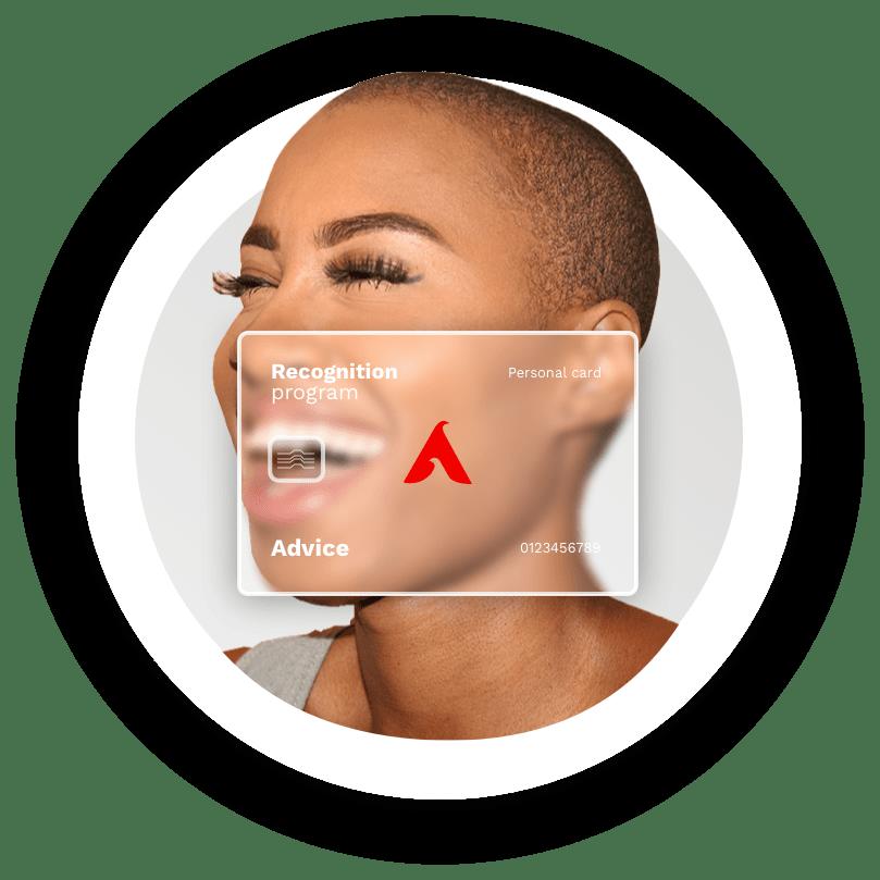 tech face card